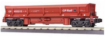 MTH Premier CP Operating Difco air dump (side dump) car, 3 rail