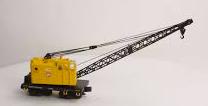 PRR M/W 4 car work train, 3 rail