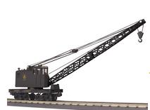 MTH Railking Scale B&O American Crane car, 3 rail