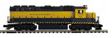 MTH Premier Susquehanna (yellow jacket) GP-40   diesel, 2 rail, P3.0,  DCC sound, cruise, exhaust