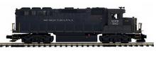 MTH Premier Susquehanna (black) GP-40   diesel, 2 rail, P3.0,  DCC sound, cruise, exhaust