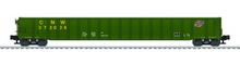Lionel CNW  65' mill gondola , 3 rail