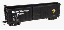 Atlas O  special run NWP (classic)  40'  double sheathed (wood)  box car