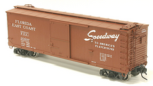 Atlas O  FEC  40'  double sheathed (wood)  box car