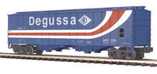 MTH Premier Degussa AG (silica) 50' Airslide Covered Hopper, 3 rail