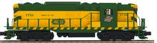 "Pre-order for MTH Premier CNW ""Torpedo"" GP-7 , 3 rail, Proto 3.0"