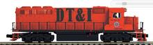 Pre-order for MTH Premier DT&I  GP-40, 2 rail, Proto 3.0, DCC