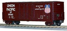 MTH Premier Union Pacific 50' Double Plug Door Box car, 3 rail LN