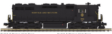 Pre-order for MTH Premier N&W SD-35 High Hood, 2 rail, Proto 3.0, DCC
