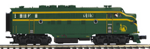 Pre-order for MTH Premier  Jersey Central (green) F-3A  diesel, 2 rail, DC, DCC. proto 3.0