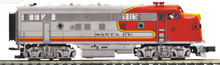 Pre-order for MTH Premier  Santa Fe  F-3A, 3 rail, non-powered