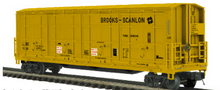 Pre-order for MTH Premier Brooks-Scanlon all door  box car, 3 rail