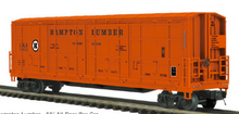 Pre-order for MTH Premier Hampton Lumber all door  box car, 3 rail