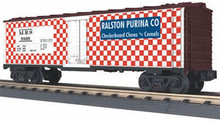 MTH Rail King Ralston Purina Reefer, 3 rail LN