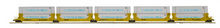 Pre-order for MTH Premier SP/TTX  5 car twin stack car with Maersk containers, 3 rail