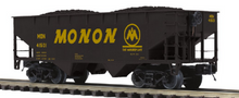 Pre order for MTH Premier 6 car set of Monon 2 bay offset  hopper cars,  3 rail