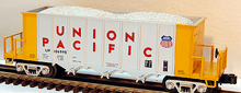 MTH Premier Union Pacific Rapid Discharge Hopper, 3 rail