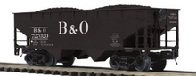 Pre order for MTH Premier 6 car set of B&O 2 bay offset  hopper cars,  3 rail