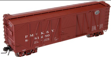 Atlas O PMcK&Y/NYC 40' single sheathed box car, 3 or 2 rail