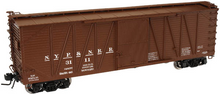 Atlas O NYP&N 40' single sheathed box car, 3 or 2 rail