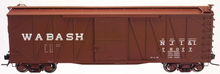 Atlas O NJII/WAB  40' single sheathed box car, 3 or 2 rail