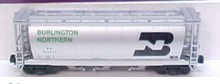 MTH Premier BN 3-Bay Cylindrical Hopper, 3 rail