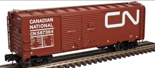 Atlas O  CN (Noodle) AAR  40' double door Box car, 3 rail or 2 rail