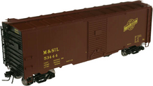Atlas O  MStL (CNW logo) AAR  40'  Box car, 3 rail or 2 rail