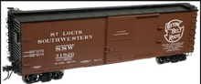 Atlas O  SSW (cottpn belt)  40'  double sheathed (wood)  box car