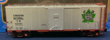 Atlas O  special run CN (silver) AAR  40' double door Box car, 3 rail or 2 rail