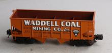 Atlas O special run  Waddell coal mining  2 bay USRA  hopper, 3 rail
