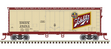 Pre-order for Atlas O Schlitz beer 40' plug door (bunkerless) reefer, 3 rail or 2 rail
