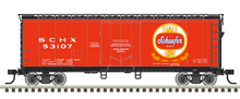 Pre-order for Atlas O Shaefer beer 40' plug door (bunkerless) reefer, 3 rail or 2 rail