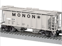Pre-order for Lionel O  Monon PS-2 Covered hopper,  3 rail