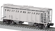 Pre-order for Lionel O  Western Maryland PS-2 Covered hopper,  3 rail