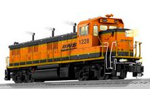 Pre-order for Lionel Legacy BNSF Genset Hybrid diesel , 3 rail