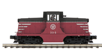MTH Premier NYO&W (red/black/white) GE 44ton diesel, 3 rail, Proto 3.0