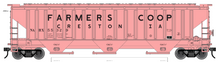 Pre-order for Atlas O  PDT exclusive Farmers Coop  Elevator   PS4750 Covered Hopper car