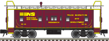 Pre-order for Atlas O NS Research  Bay Window Caboose, 3 rail or 2 rail