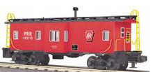 MTH Railking Scale PRR  Bay Window Caboose, 3 rail