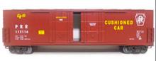 MTH Premier PRR  50' Double  Plug Door Box car, 3 rail