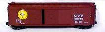 MTH Premier NYC Early Bird  50'  double door Box car, 3 rail