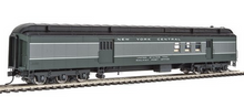 Golden Gate Depot   NYC 2 tone gray baggage-mail car, 2 or 3 rail