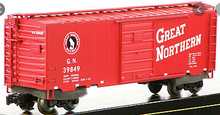 Weaver Great Northern (red)' PS-1 box car, 3 rail or 2 rail
