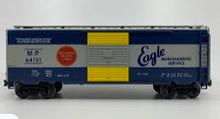 Weaver special run MoPac 40' PS-1 (Blue/gray/yellow) box car, 3 rail or 2 rail