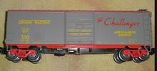 Weaver UP (Challenger)  40' PS-1 box car, 3 rail or 2 rail