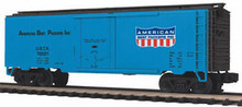 MTH Premier American Beef Packers 40' Reefer, 3 rail Like New