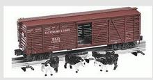 Lionel  B&O  40' ACF 40 ton stock car , 3 rail