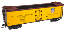 Pre-order for Atlas O  PFE 40' rebuilt Wood Reefer, 3 rail or 2 rail