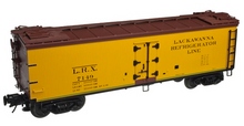 Pre-order for Atlas O  Lackawanna 40' rebuilt Wood Reefer, 3 rail or 2 rail